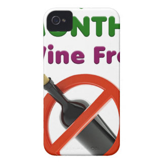 9 months wine free, pregnant woman, pregnancy baby Case-Mate iPhone 4 case