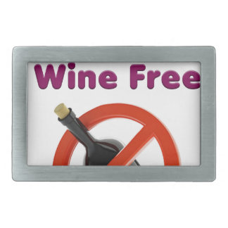 9 months wine free, pregnant woman, pregnancy baby rectangular belt buckles