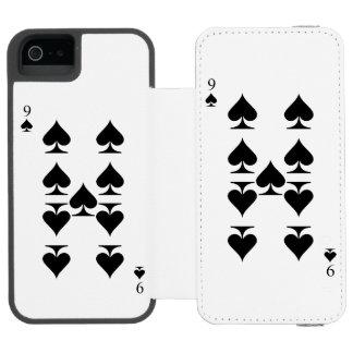 9 of Spades Incipio Watson™ iPhone 5 Wallet Case