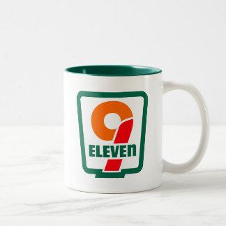 9 onze 9/11' T-shirt drôle de merica Mug Bicolore