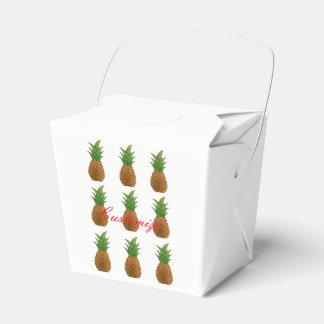 9 pineapples Thunder_Cove Favor Box