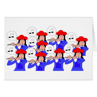 9 Pipers Piping Card