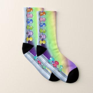 9 robots - socks 1