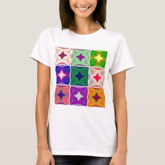 9 star Hakuna matata pattern T-Shirt