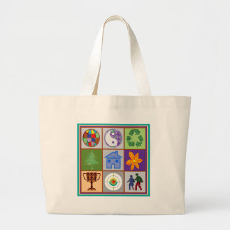 9 Symbols KIDS Story Engage Motivate Inspire GIFTS Canvas Bags