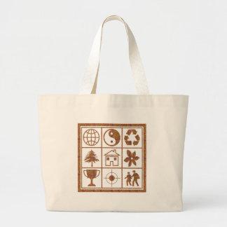 9 symbols make great KIDS motivational story GIFT Tote Bag