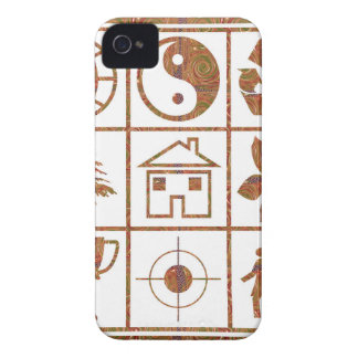 9 symbols make great KIDS motivational story GIFT iPhone 4 Cover