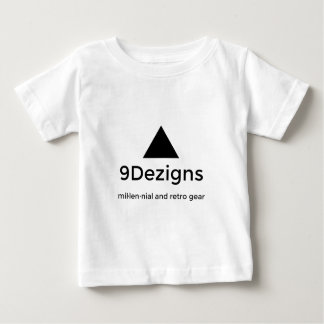 9Dezigns Millennial and Retro Gear Baby T-Shirt