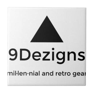 9Dezigns Millennial and Retro Gear Tile