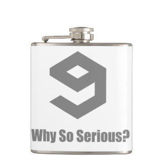 9GAG - Grey Hip Flask