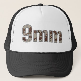 9mm ammo ammunition desert camo trucker hat