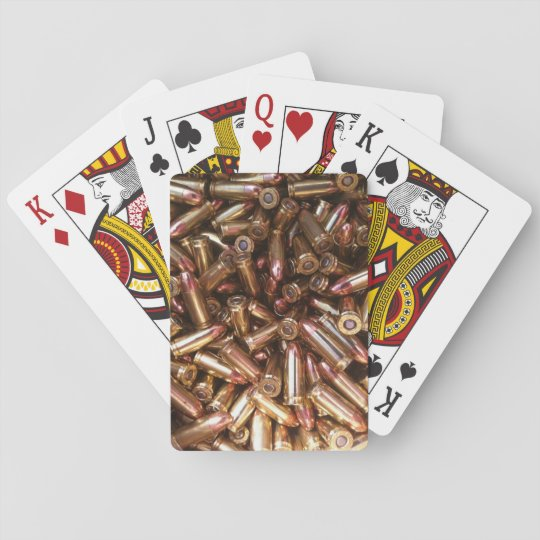 9mm Ammo Playing Cards