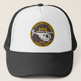 9th Cavalry 1st Squadron Trucker Hat