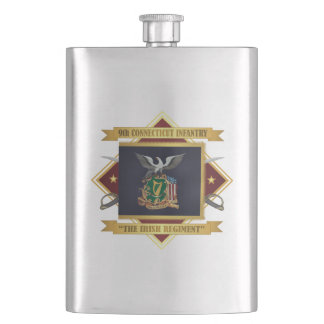 9th Connecticut Volunteer Infantry Hip Flask