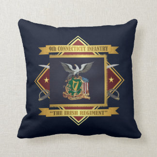 9th Connecticut Volunteer Infantry Throw Pillow