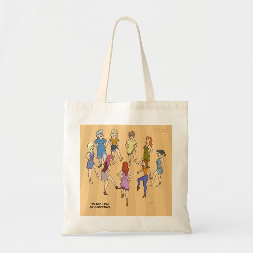 9th Day of Christmas (Nine Ladies Dancing) Bag