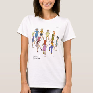 9th Day of Christmas (Nine Ladies Dancing) T Shirt