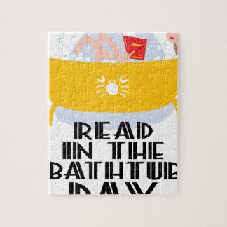 9th February - Read In The Bathtub Day Jigsaw Puzzle