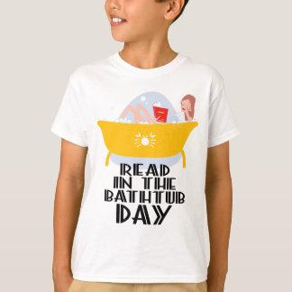 9th February - Read In The Bathtub Day T-Shirt