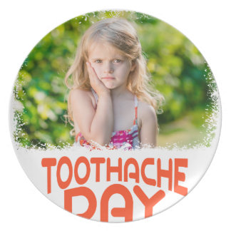 9th February - Toothache Day - Appreciation Day Dinner Plate