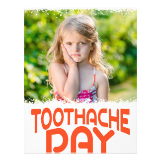 9th February - Toothache Day - Appreciation Day Letterhead
