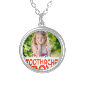 9th February - Toothache Day - Appreciation Day Silver Plated Necklace