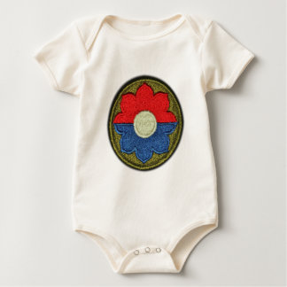 9th ID Infantry Division Pathfinder veterans vets Baby Bodysuit