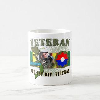 9th Inf Div-Vietnam (w/CIB) Coffee Mug