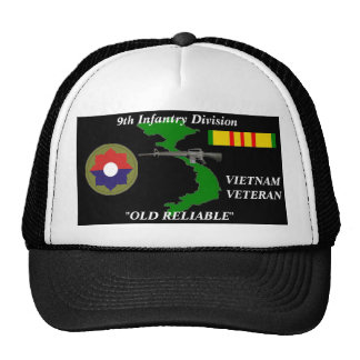 "9th Infantry Division""Old Reliable"" Ball Caps Trucker Hat"