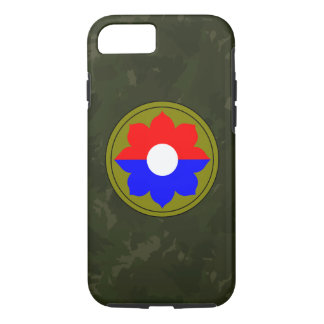 """9th Infantry Division""""Old Reliables"""" Dark Green iPhone 7 Case"""