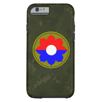 """9th Infantry Division""""Old Reliables"""" Dark Green Tough iPhone 6 Case"""