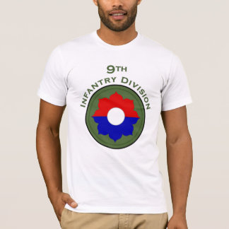 9th Infantry Division shoulder patch T-shirt