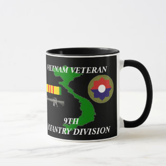 9th Infantry Division Vietnam Veteran Coffee Mugs