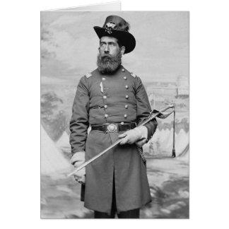 9th Massachusetts Officer, 1860s Card