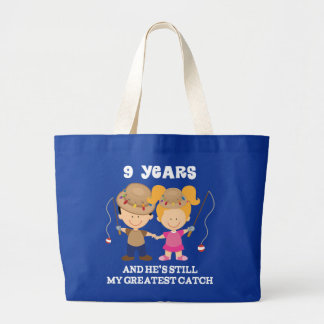 9th Wedding Anniversary Funny Gift For Her Tote Bag