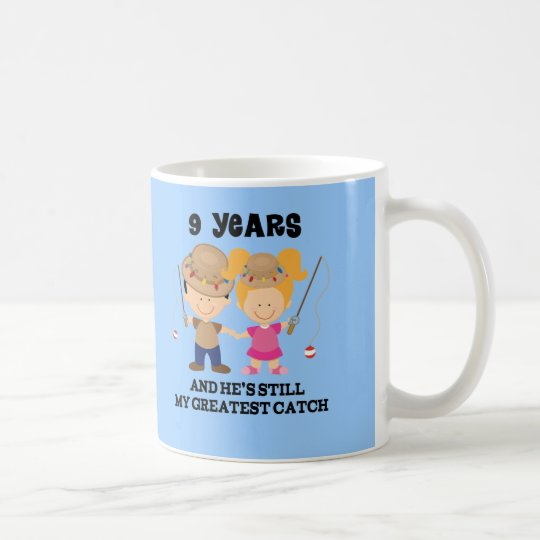 9th Wedding Anniversary Gift.9th Wedding Anniversary Gift For Her Coffee Mug