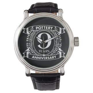 9TH wedding anniversary pottery Watch