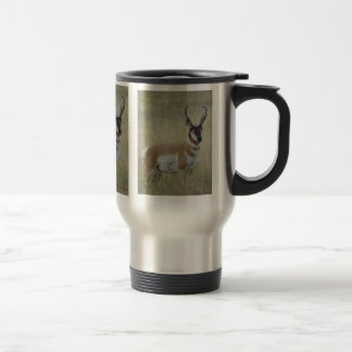 A0009 Pronghorn Antelope Travel Mug