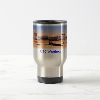 A10 Desert Warrior, A 10 Warthog 15 Oz Stainless Steel Travel Mug