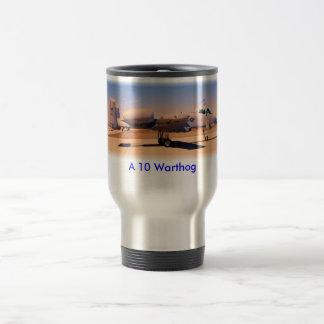 A10 Desert Warrior, A 10 Warthog Stainless Steel Travel Mug