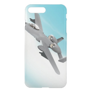 A10 Military Plane Illustration iPhone 7 Plus Case