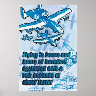 A10 Warthog Poster