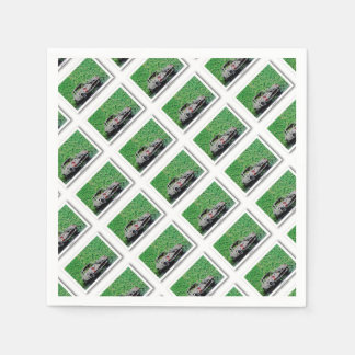 A110 - Digitally Work - Jean Louis Glineur Disposable Napkin