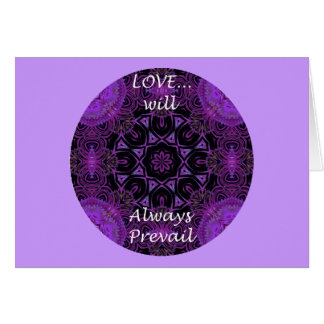 A19 Love Will Always Prevail Card 1