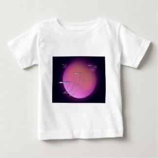 A1 Blue Geese sun JPEG Baby T-Shirt