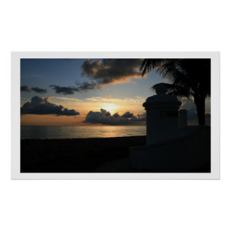 A1A Sunrise Poster