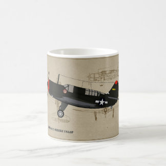 A25A-Shrike World-War-2 Dive-Bomber Coffee Mug