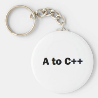 a2cplusplus basic round button keychain