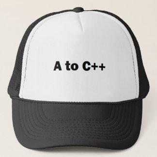 a2cplusplus trucker hat