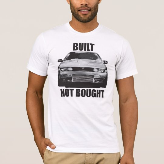 A31 CEFIRO BUILT NOT BOUGHT TEE SHIRT